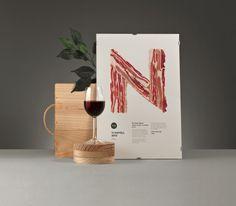 Etiqueta de vino - Vi Novell 2012 - Atipus