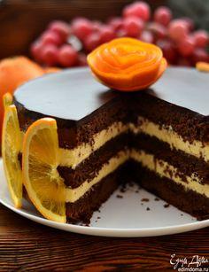 Poke Cakes, Lava Cakes, Cupcake Cakes, Chef Recipes, Baking Recipes, Sweet Recipes, Custard Cake, Sweet Pastries, Russian Recipes