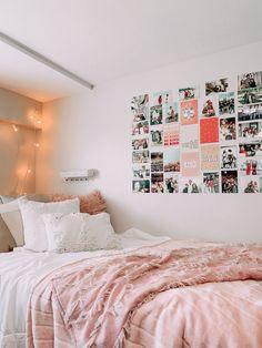 Teen Room Decor, Room Ideas Bedroom, Bedroom Decor, Bedroom Inspo, Teen Bedroom Inspiration, Bedding Inspiration, Bedding Decor, Bedroom Signs, Dorm Room Designs