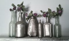 villabarnes: Silvered Bottles
