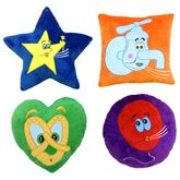 Calming Pillow Set Nothing calms and heals as effectively a taking three deep belly breaths. Each pillow depicts a different breathing icon. Easy to hug and a great visual reminder of what TO DO!
