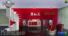 Jom Sims Creations: Modern Laundry • Sims 4 Downloads