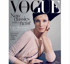 Cate Blanchett shines on the April 2015 cover of Vogue Australia. Click on the image to read more.