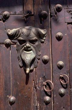 Antique Door Knocker - Cartagena 1985