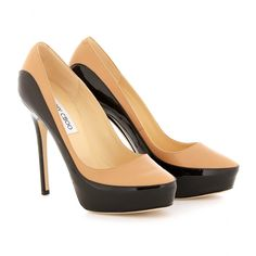 Jimmy Choo Pumps,  this pair will give a gorgeous Trompe l'oeil effect  #shoemadness #shoes