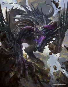 ArtStation - Black Dragon, Dongjun Lu