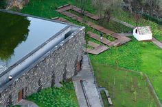 Pavilhão Vulcão e Jardins de Água de São Vicente. Global Landscape Architecture. São Vicente, Madeira, Portugal. 2003-2004.
