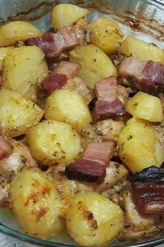 Portuguese Recipes, Bacon, Main Dishes, Dessert Recipes, Food And Drink, Low Carb, Healthy Eating, Pizza, Homemade