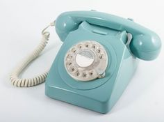 This GPO 746 Rotary Blue retro telephone from Turnbull and Thomas is a lot of nostalgic fun!