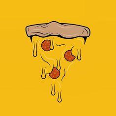 Pizza Art, Kids Pizza, Pizza Logo, Outline, Type Illustration, Photo Images, Story Instagram, Design Graphique, Art Day