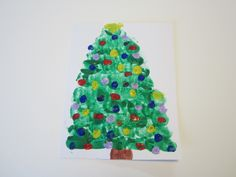 christmas tree projects for preschool - Google Search