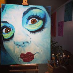 #workinprogress  of #today Spicciani #Painter #Painting in #Tuscany #Italy #art #fineart #artist #studio #contemporaryart #portrait #italianpainter #oil #figurative  http://www.monicaspicciani.it Monica Spicciani #Painter #Painting in #Tuscany #Italy #art #fineart #artist #studio #contemporaryart #portrait #italianpainter