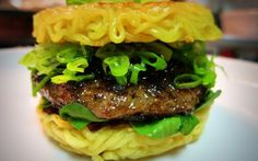 Most outrageous burgers: ramen burger