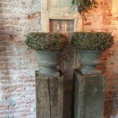 Schoon metselwerk muur van oude metselstenen | oude bouwmaterialen | Kersbergen.nl