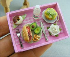 This miniature food is so real!
