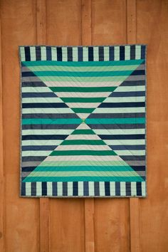 """Beautifully executed """"Barn Door"""" quilt by Michelle Bartholomew.."""