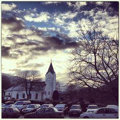 Church in Arna, Bergen. (Norway)