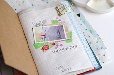 Cursos sobre memory keeping & scrapbooking para tu Traveler's Notebook