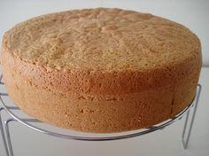 Este bizcocho esta indicado para elaborar pasteles y brazos de gitano. La receta del bizcocho Genovés