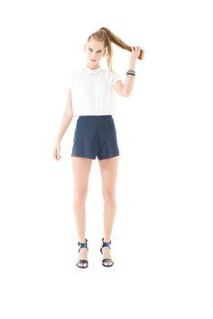Blusa y shorts a la venta en puntos Sears