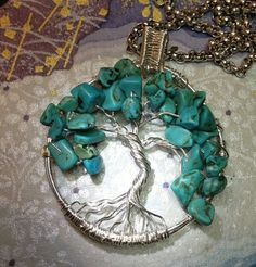 Tree of Life by PhylPrettyJewellery on Etsy, $30.00