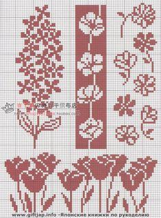 Cross Stitch Bookmarks, Mini Cross Stitch, Cross Stitch Borders, Cross Stitch Flowers, Modern Cross Stitch, Cross Stitch Designs, Cross Stitching, Cross Stitch Embroidery, Cross Stitch Patterns