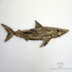 Driftwood Shark BeachwoodDreams.com