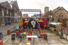 #Streetart au Roest Café