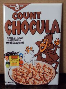 Count Chocula Cereal   omg this was the best
