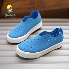 >> Click to Buy << 2017 Babaya Children shoes boy and girl casual fashion sneakers Loafer driver Solid Breathable Cut-outs PU Leather Toddler shoes #Affiliate