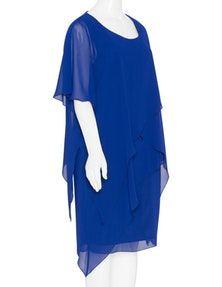 Kirsten Krog - Layered chiffon dress