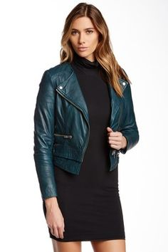 Muubaa Surko Leather Biker Jacket