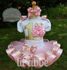 Hey, I found this really awesome Etsy listing at https://www.etsy.com/listing/198064728/gathered-satin-rosette-cupcake-tutu-set
