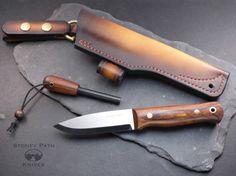 Bushcraft Knife / woodlore style / Survival by StoneyPathKnives