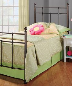 Look what I found on #zulily! Antiqued Bronze Providence Bed #zulilyfinds