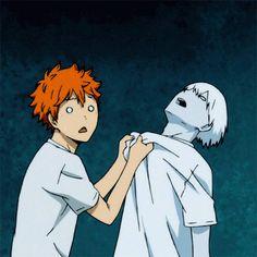 Shouyou Hinata.Tobio Kageyama.HQ !.Волейбол.Anime.