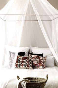 Greek style bedroom, Mediterranean