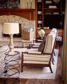 Fireplace  Traci Zeller Designs | Charlotte Interior Designs