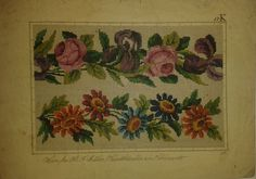 Beautiful Berlin WoolWork Border Patterns Produced By H.F.Müller In Berlin ~ eBay.at