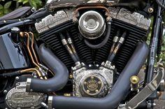 custom harley davidson motorcycles | Custom harley davidson harley softail engine custom motorcycles