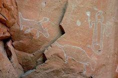 Petroglyphs in Craven Canyon, Black Hills, South Dakota Buffalo Art, Ancient Mysteries, September 2014, South Dakota, Prehistoric, Rock Art, Wyoming, Traditional Art, North America
