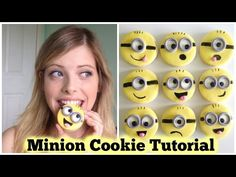 Minion Cookies - Easy DIY Decorating Tutorial, My Crafts and DIY Projects