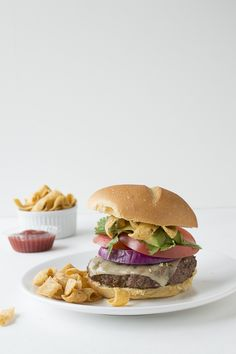 Southwestern Frito Burger | thefirstyearblog.com