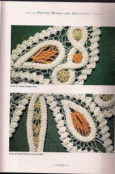 romanian -101 (338x512, 57Kb) Needle Lace, Bobbin Lace, Crochet Doilies, Crochet Lace, Macrame Patterns, Crochet Patterns, Lace Design, Pattern Design, Bruges Lace