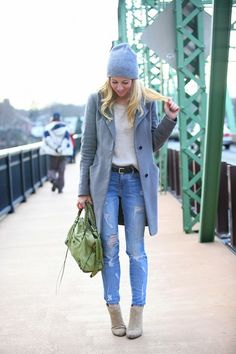 Brooklyn Blonde: Dress Down Friday: Comfy Neutrals Outfits Damen, Blazer Outfits, Casual Outfits, Cute Outfits, Casual Blazer, Emo Outfits, Fall Winter Outfits, Autumn Winter Fashion, Autumn Casual