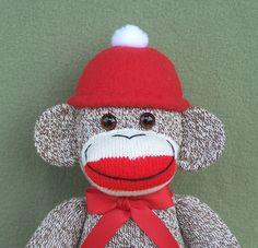 Everyone needs a sock monkey