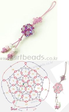 Bead Charm Pattern