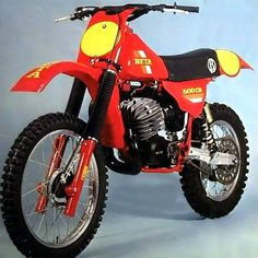 Beta 500CR Dirt Bike