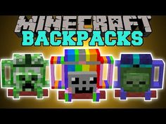 Adventure Backpack Mod for Minecraft - The Adventure Backpack Mod is a special backpack mod that allows players to store fluids in containers attached to the bag. Minecraft Mods, Capas Minecraft, Minecraft Forge, Minecraft Videos, Minecraft Games, Minecraft Skins, Minecraft Addons, Minecraft Stuff, Backpacks