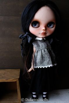 REVISED One Customized OOAK Blythe Doll / KIM by Dakawaiidolls